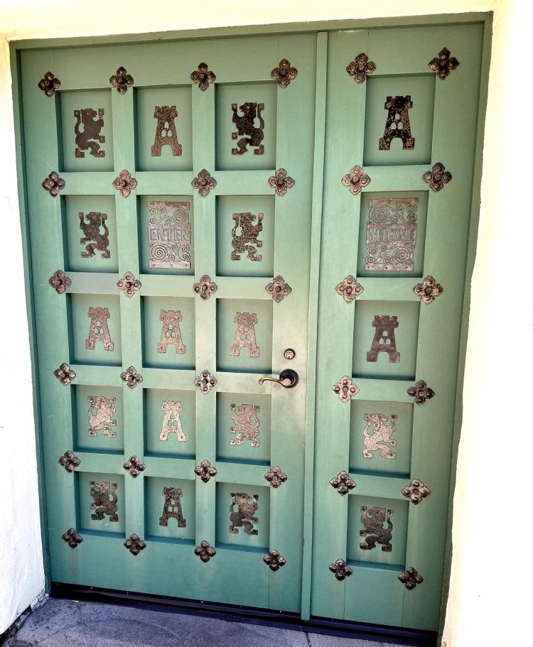 Allied Arts Door