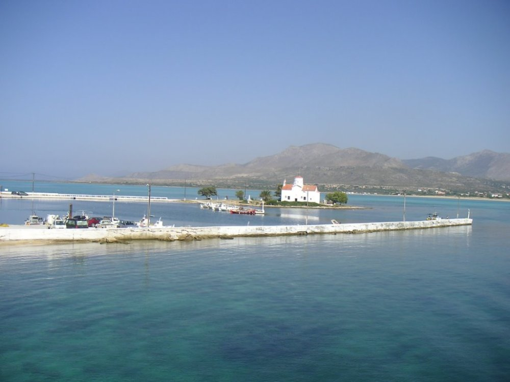 Elafonisos View of Church