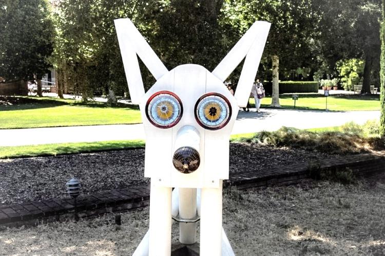 Filoli Dog Sculpture Adj
