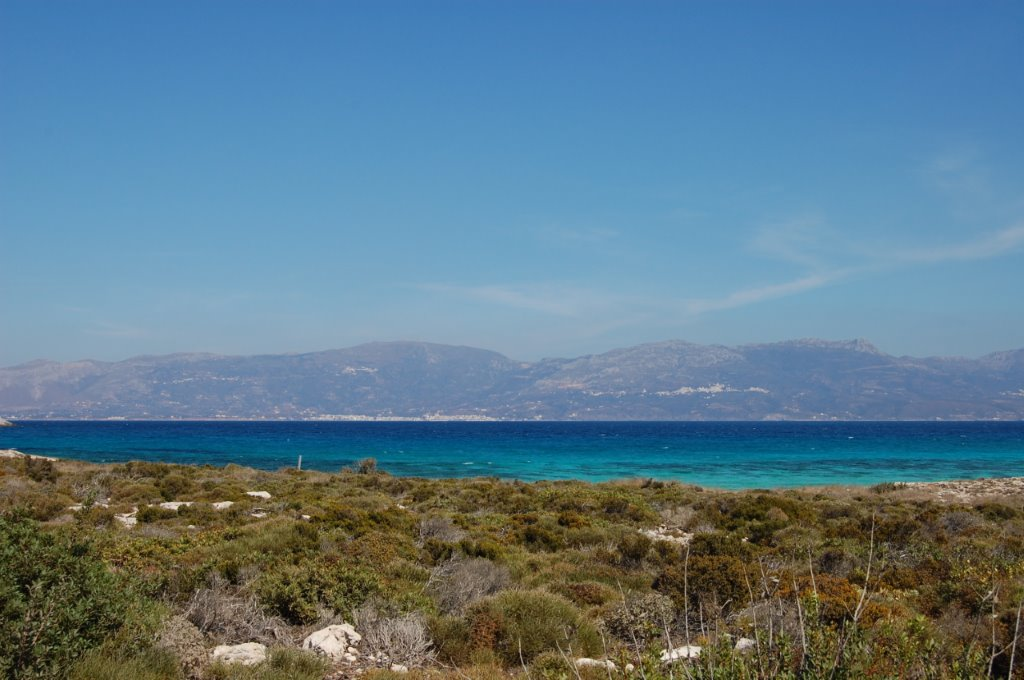 Greece - Elafonisos View to Neapolis