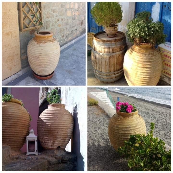 Greek Pottery Collage 2