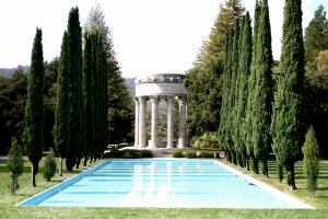 Pulgas Temple and Reflection Pool