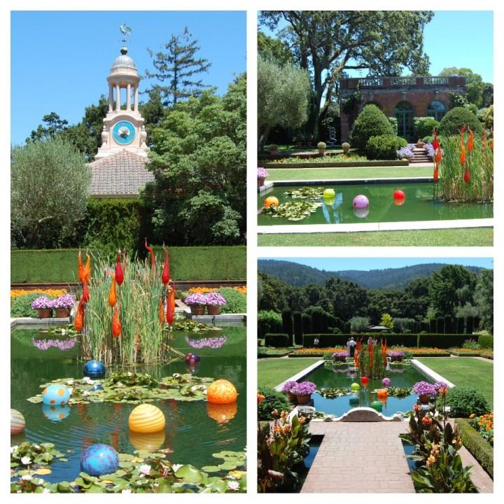 Sunken Garden Collage