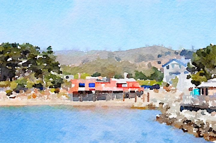 half-moon-bay-view-from-pier-to-hills-waterlogue