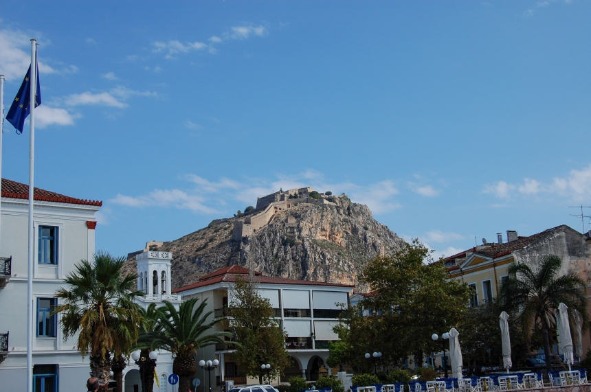 Nafplio Fortress View