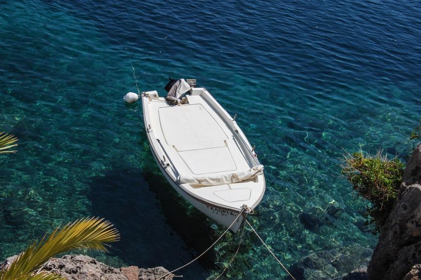 Boat in Avlemonas
