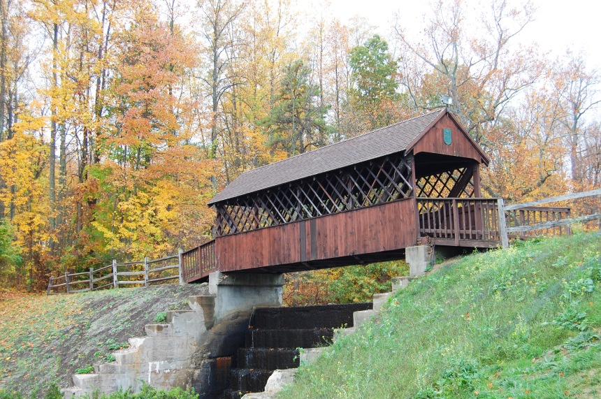 Countryside Park Covered Bridge