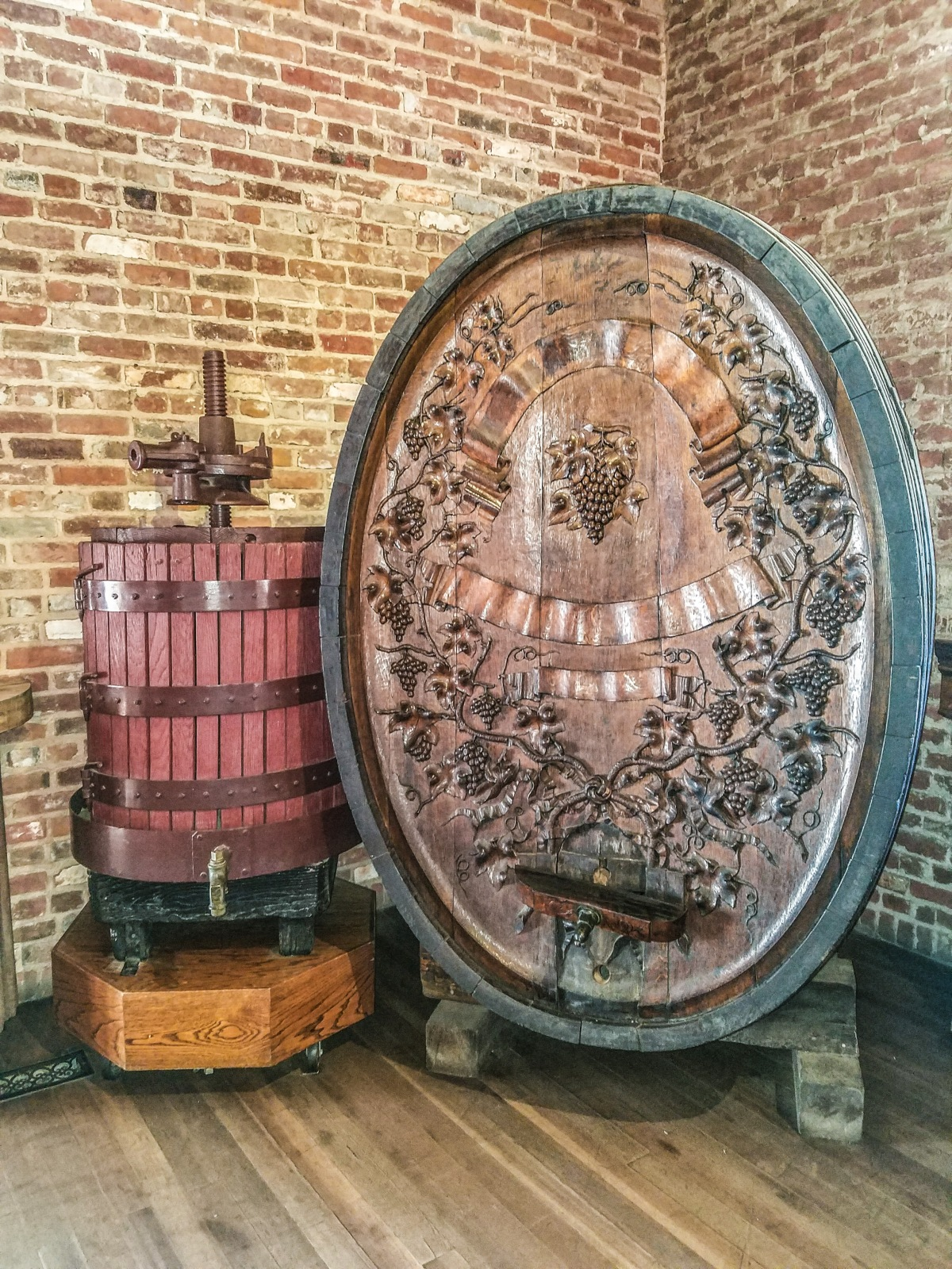Inside the tasting room