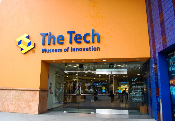 The Exploration Gallery at The Tech Museum of Innovation in San Jose,CA