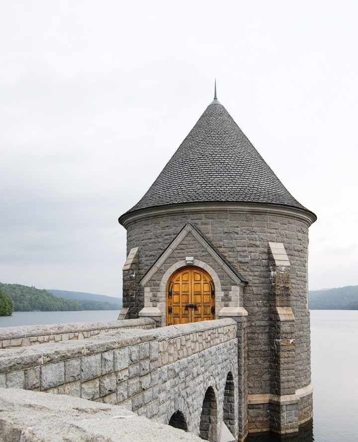 A Medieval-Style Gatehouse at Saville Dam – Barkhamsted, CT