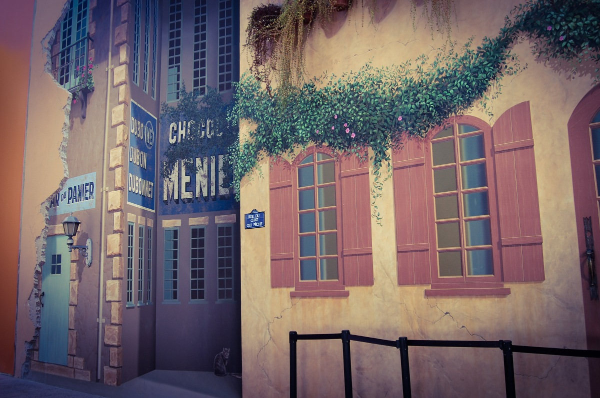 Parisian Street Scene 2_sp effect
