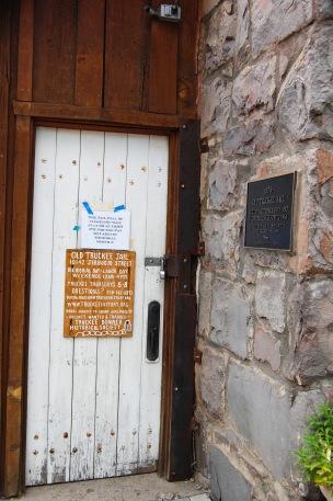 Truckee - Old Jail Door