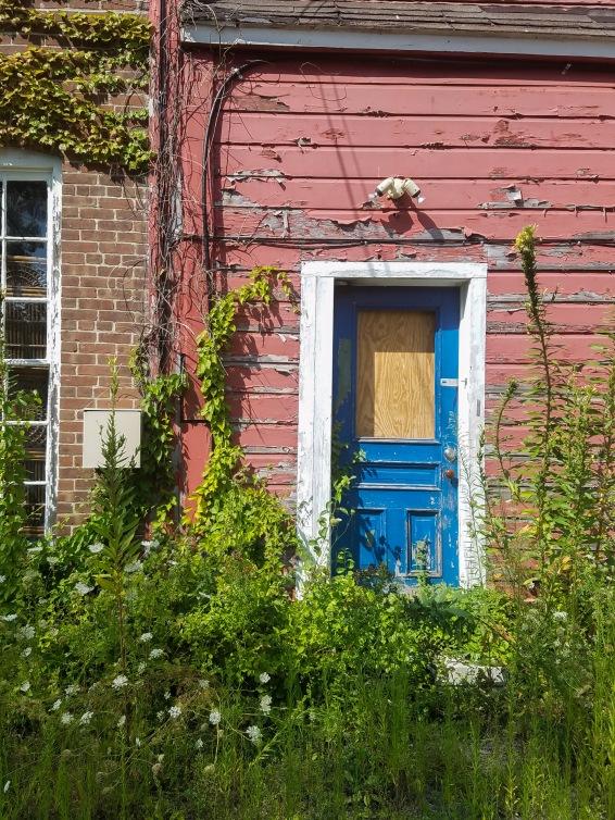 Monument Mills Blue Door