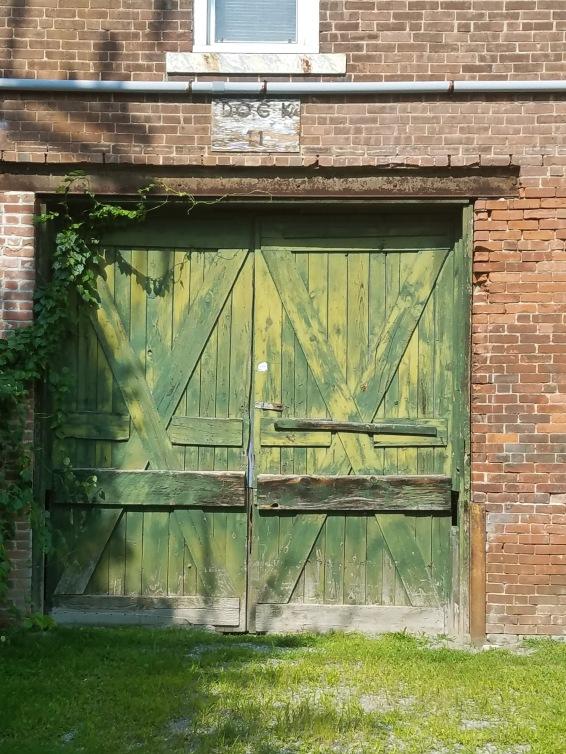 Monument Mills Green Door