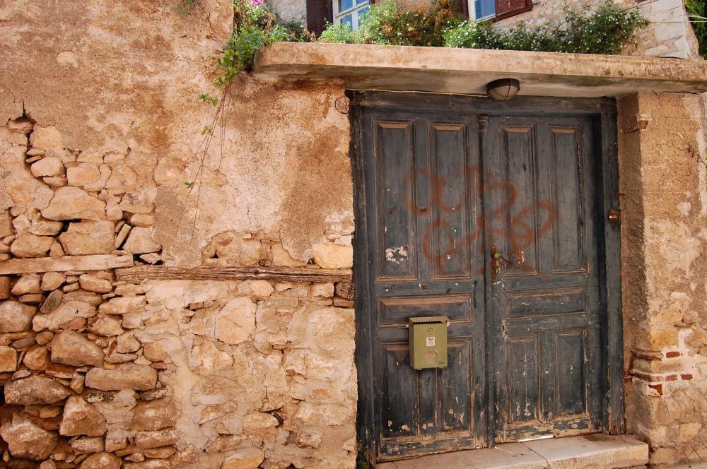 Nafplio Crumbling Door