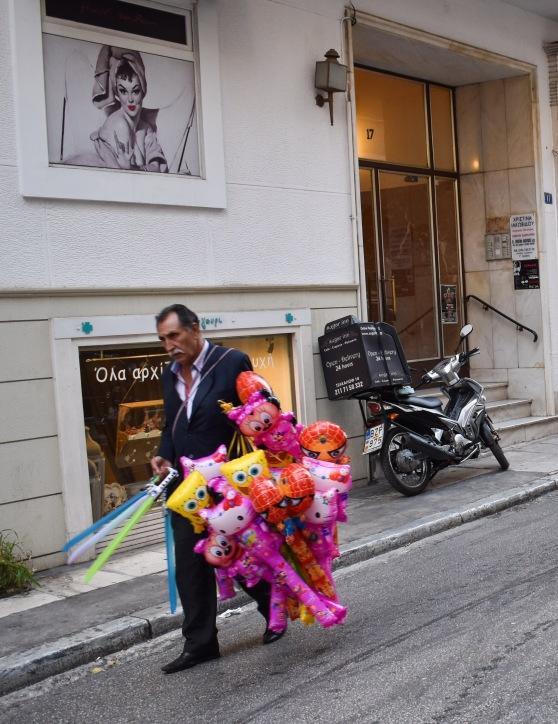 Balloon Seller Athens