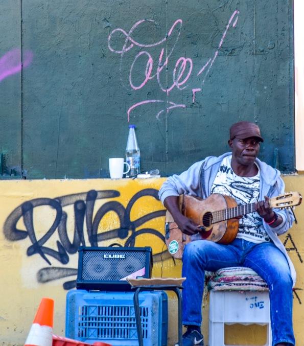 Street Musician in Plaka