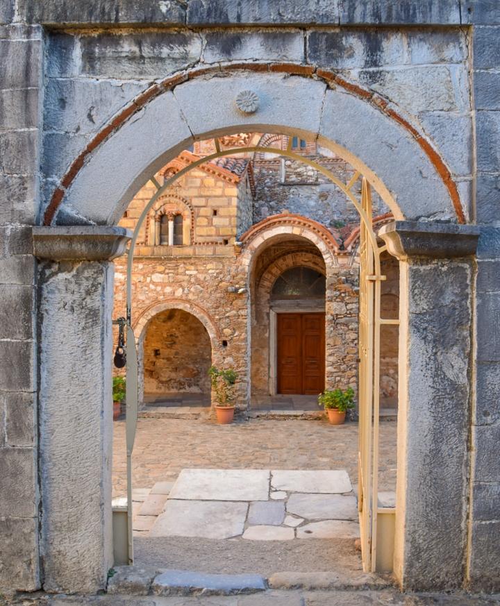 The Church of Saint Demetrios inMystras