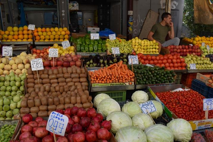 Produce Vendor at the Athens Public Market