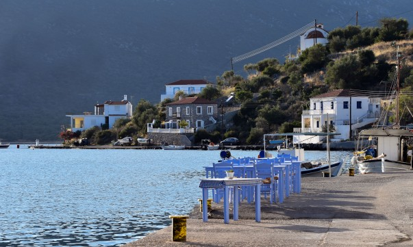 Rural Port Village of Gerakas, Greece