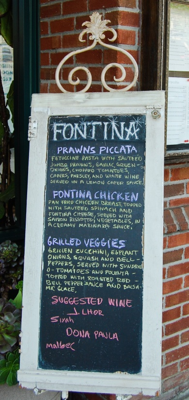 Pleasanton Eatery Sign