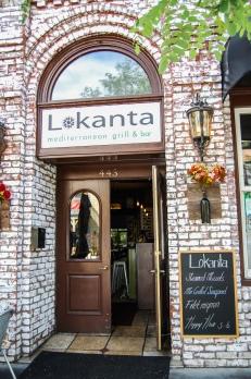 Pleasanton Restaurant Door