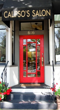 Pleasanton Hair Salon Door