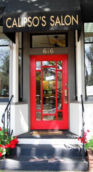 Pleasanton Hair Salon Door