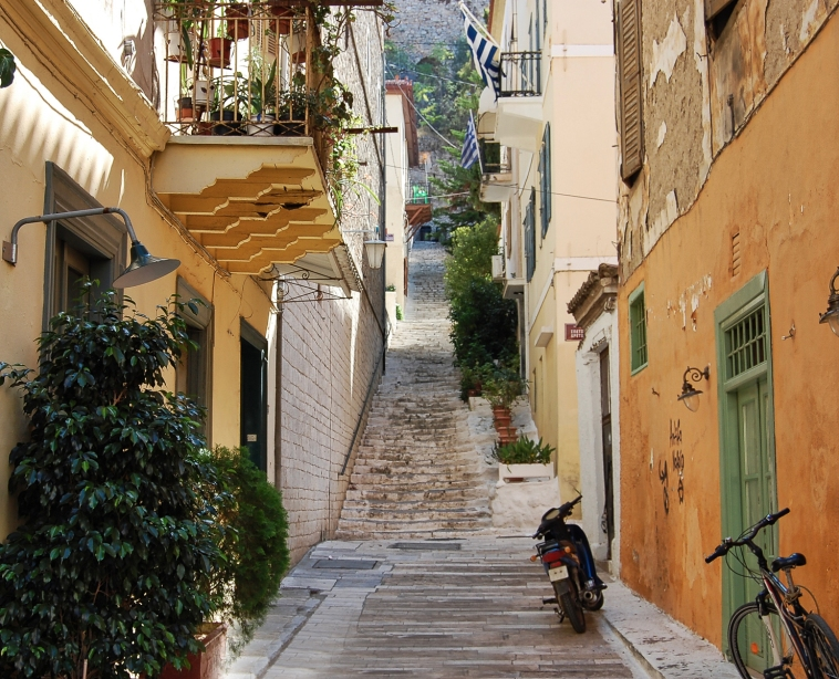 Street Scene Nafplio 10 LR