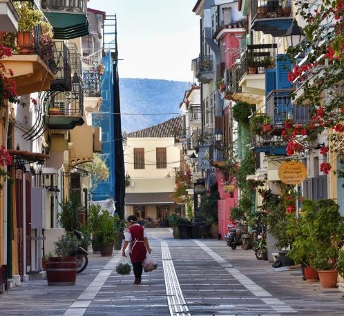 Street Scene Nafplio