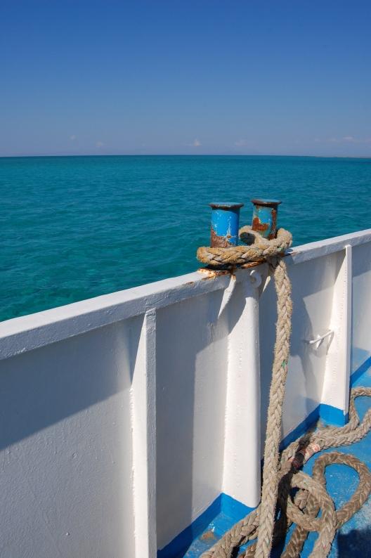 Ferry Boat Ride to Elafonisos, Greece
