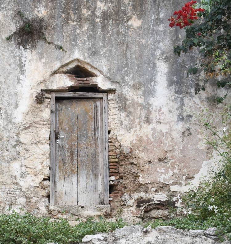 Old Secrets Guarded By A Locked Door Note To Traveler