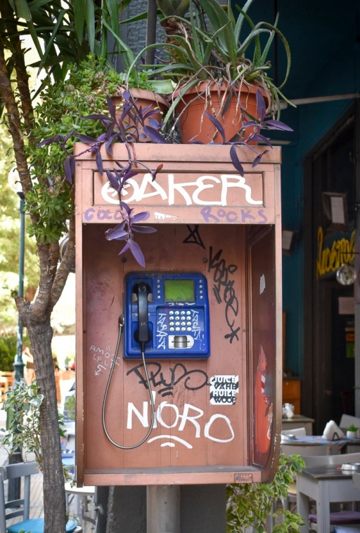 Telephone Box in Athens