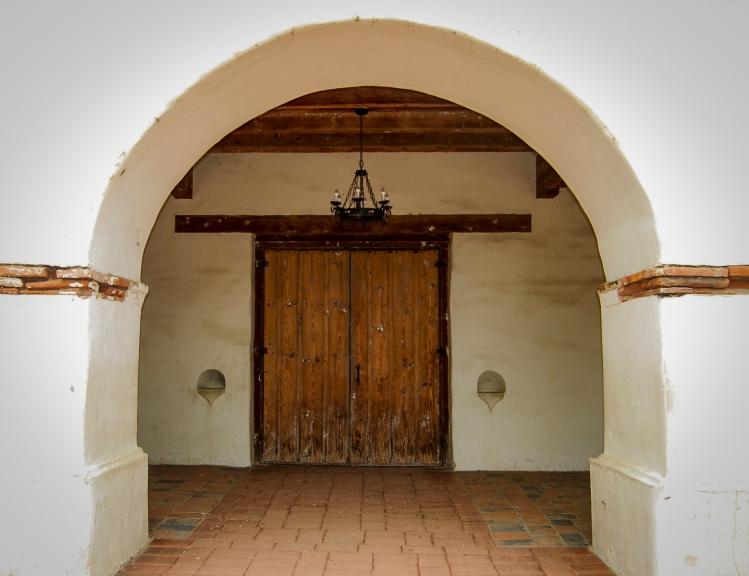 Mission San Juan Bautista Door
