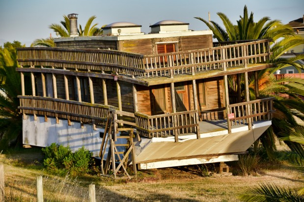 Abandoned Houseboat
