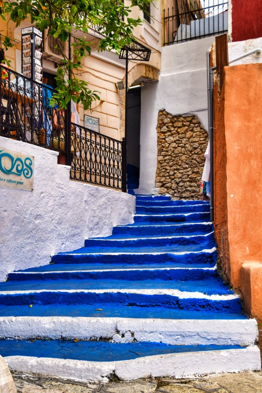 Blue Stairs Parga L