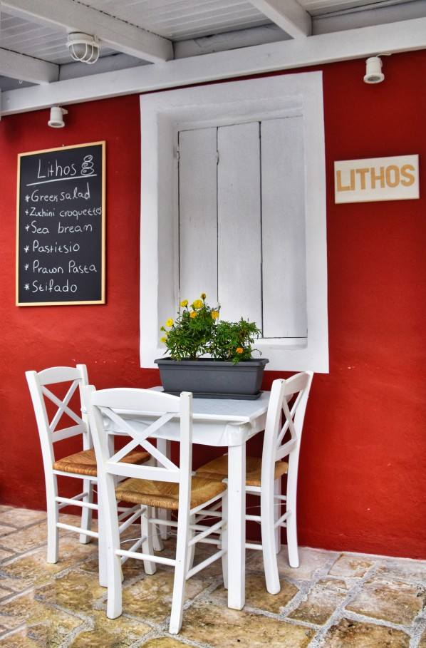 Lithos Taverna in Parga