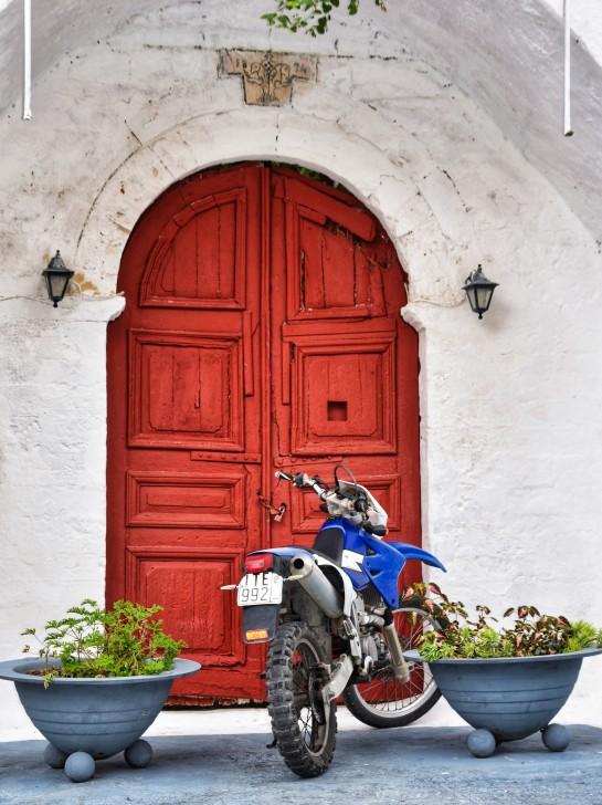 Red Door in Parga LR