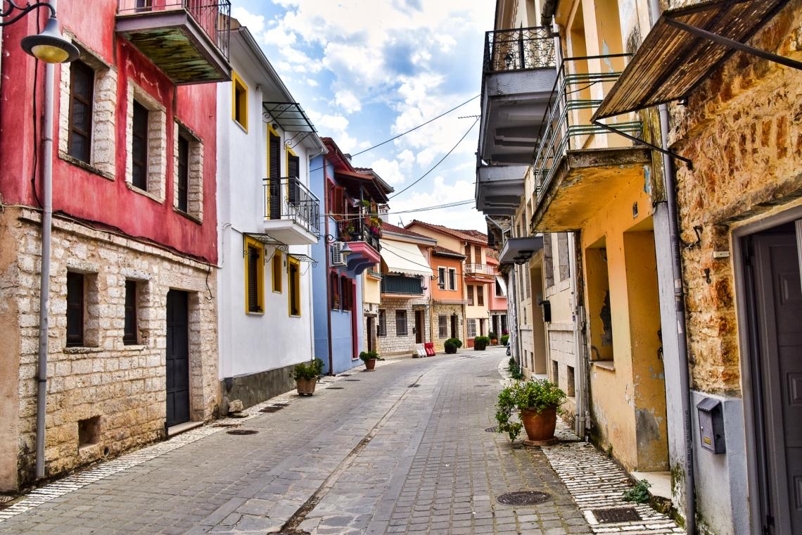 Ioannina Street Scene 2 LR