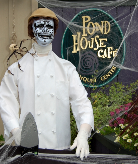Pond House Halloween LR