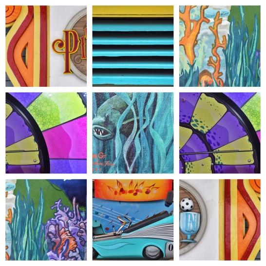Santa Cruz Boardwalk Collage LR