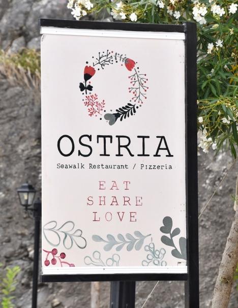 Ostria Sign