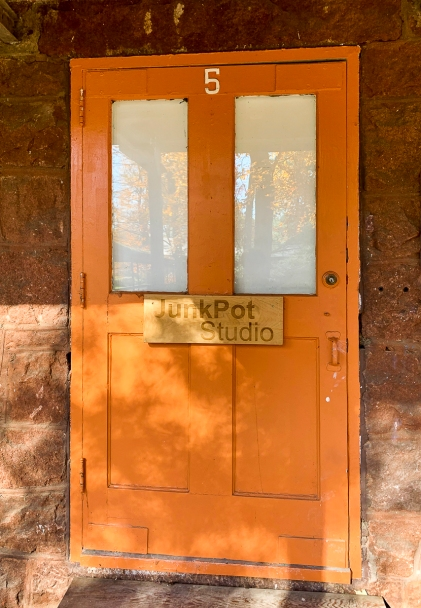 Avon Art Center Orange Door LR