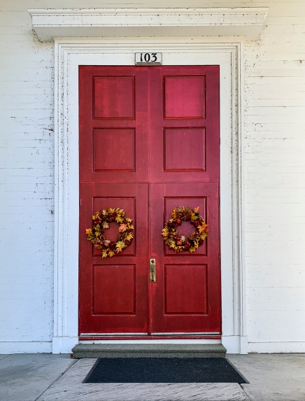 Collinsville Church Door LR