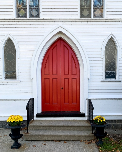 New Hartford Episcopal Church Door LR