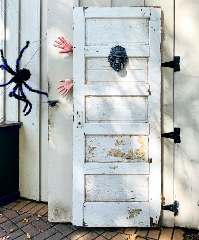 Pond Place Halloween Door 2 LR
