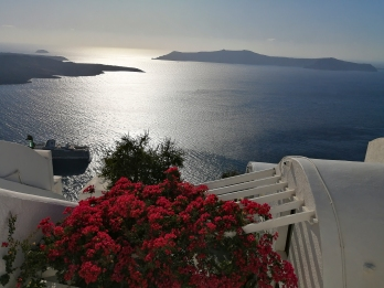 Santorini - View of Caldera 2
