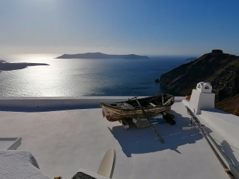 Santorini - View of Caldera